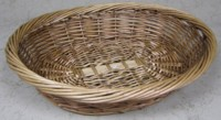 Oval Willow Display Basket