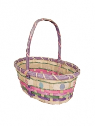 Handled Easter Basket Pastel