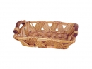 Rect Zig Zag Willow Tray