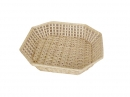 Octagon Willow Tray