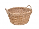 Rd. Rattan Display Basket