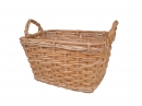 Rect. Rattan Display Basket