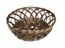 Round Open Weave Bowl