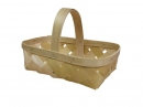 4 Qt. Wood Slat Basket