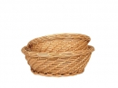 Round Buff Willow Bowl